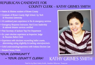 Republican Candidate For County Clerk