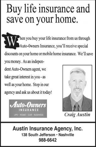 Buy Life Insurance And Save On Your Home.