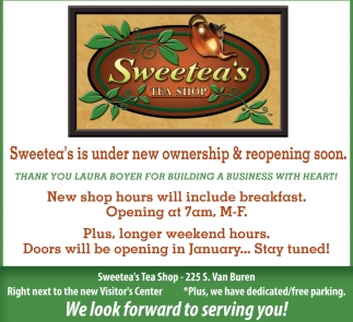 Sweetea's Is Under New Ownership and Reopening Soon