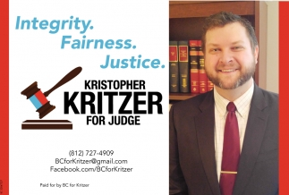 Integrity. Fairness. Justice.