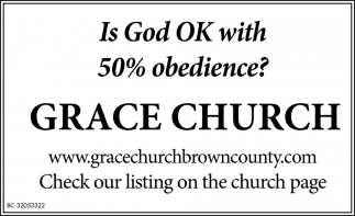 Is God OK With 50% Obedience?