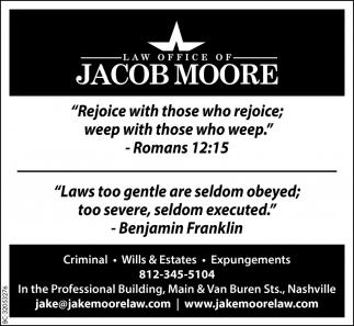 Criminal - Wills And Estates - Expungements