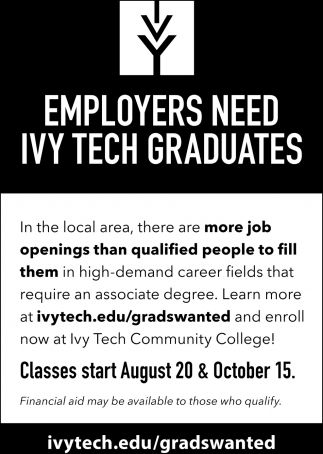 Employers Need Ivy Tech Graduates