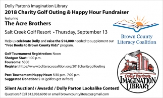 2018 Charity Golf Outing And Happy Hour Fundraiser