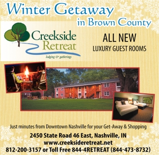 Winter Getaway In Brown County
