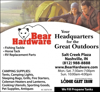 Your Headquarters For The Great Outdoors