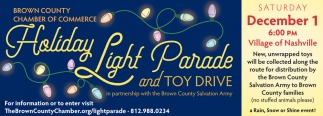 Holiday Light Parade And Toy Drive