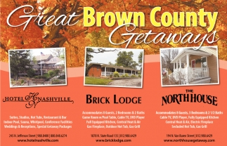Great Brown County Getaways