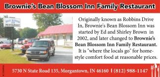 Brownie's Bean Blossom Inn Family Restaurant