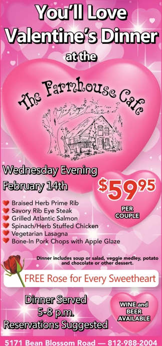 You'll Love Valentine's Dinner
