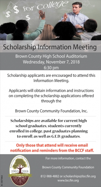 Scholarship Information Meeting
