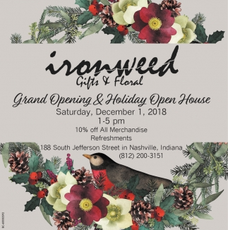 Grand Opening & Holiday Open House