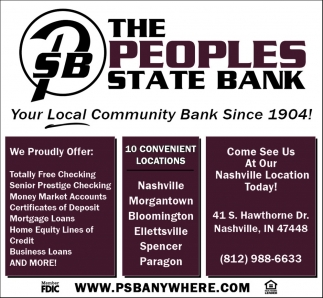 Your Local Community Bank Since 1904!