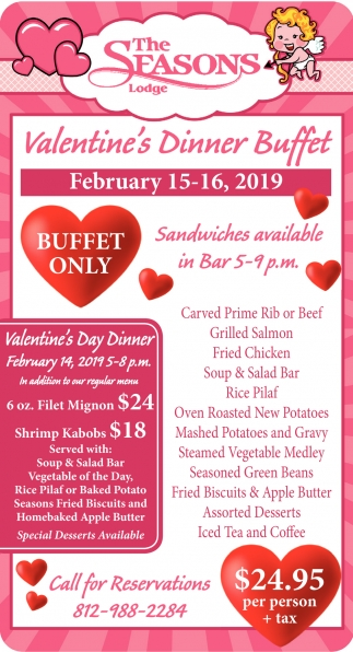 Valentine's Dinner Buffet