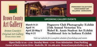 Upcoming Gallery Events