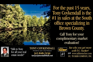 Talk To Tony For All Your Real Estate Needs