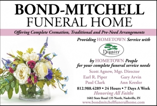 Offering Complete Cremation, Traditional And Pre-Need Arrangements