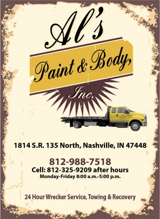 Al's Paint And Body, Inc.