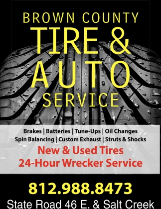 24 Hour Oil Change >> New Used Tires 24 Hour Wrecker Service Brown County Tire