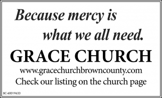 Because Mercy Is What We All Need.