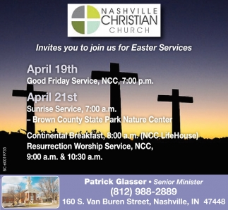 Invite You To Join Us For Easter Services