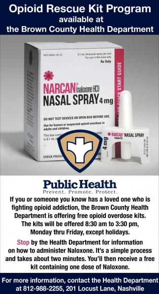 Opioid Rescue Kit Program