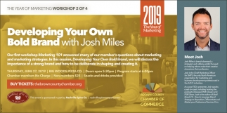 Developing Your Own Bold Brand With Josh Miles