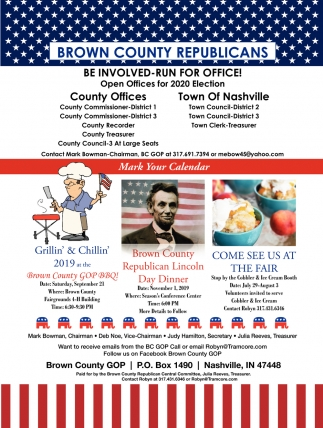 Be Involved-Run For Office!