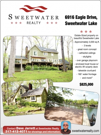 Contact Dave Jarrett At Sweetwater Realty