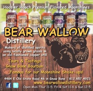 Hossier Hooch Premium Flavored Moonshines