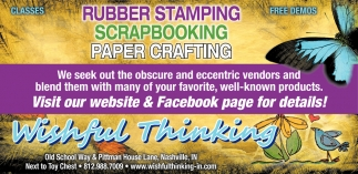 Rubber Stamping - Scrapbooking - Paper Crafting