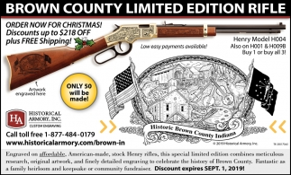 Brown County Limited Edition Rifle