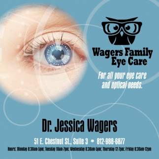 For All Your Eye Care And Optical Needs.