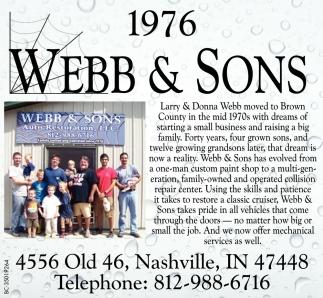 Webb & Sons