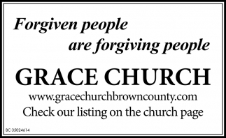 Forgiven People Are Forgiving People.