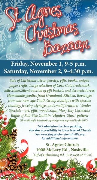 St. Agnes Christmas Bazaar