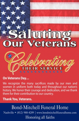 Salutin Our Veterans