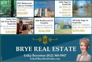 Brye Real Estate: Erika Bryenton