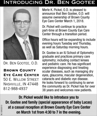 Introducing Dr. Ben Gootee