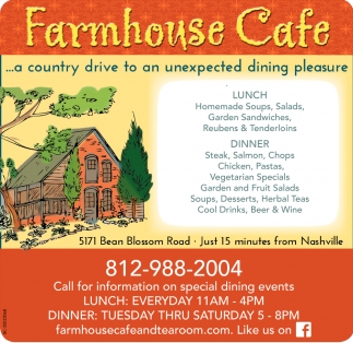 ... A Country Drive To An Unexpected Dining Pleasure