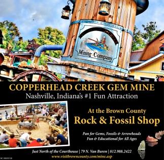 Nashville, Indiana's #1 Fun Attraction