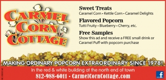 Making Ordinary Popcorn Extraordinary Since 1978!
