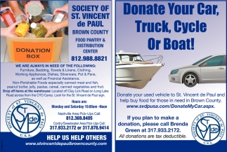 Donate Your Car, Truck, Cycle Or Boat!