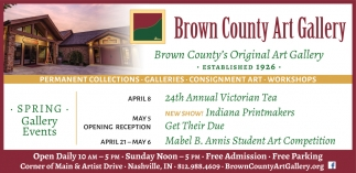 Brown County's Original Art Gallery
