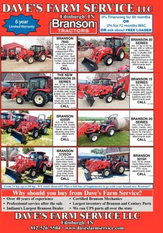Branson Tractors