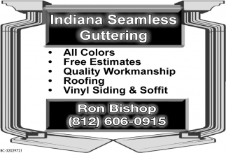 Indiana Seamless Guttering