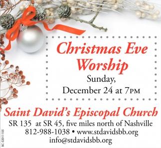 Christmas Eve Worship , Saint David\'s Episcopal Church