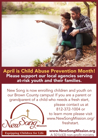 April Is Child Abuse Prevention Month!