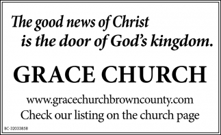 The Good News Of Christ Is The Door Of God's Kingdom.