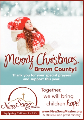 Merry Christmas, Brown County!